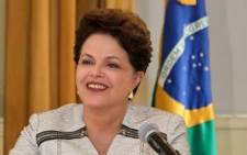 File: Dilma Rousseff. Picture: AFP.
