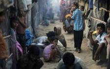 After fleeing violence in Myanmar in October 2016, Rohingya refugees live in overcrowded makeshift sites in Cox's Bazar, Bangladesh. Photo: UNHCR