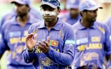 Sri Lanka cricket team. Picture: AFP.