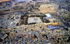 The City of Jerusalem's religous compound which includes Al-Aqsa Mosque, Dome of the Rock and the Western Wall among others. Picture: I Love Jerusalem Facebook page.