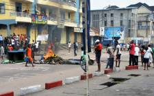 FILE: Congolese protest in Kinshasa. Picture: AFP