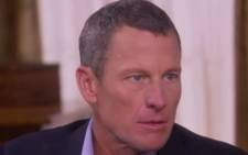 Lance Armstrong admits exclusively to Oprah Winfrey that he doped.  Picture: Oprah.com
