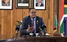 Zambian High Commissioner Emmanuel Mwamba. Picture: Barry Bateman/EWN