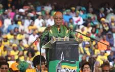 President Jacob Zuma. Picture: Christa Eybers/EWN.
