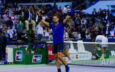 World number one Rafael Nadal moved on to the finals at Shanghai after beating fourth seed Marin Cilic. Picture: @SH_RolexMasters/Twitter.
