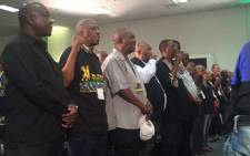 Umkhonto we Sizwe veterans have gathered at a national council in Nasrec to discuss the unity within the ANC movement. Picture: Ziyanda Ngcobo/EWN
