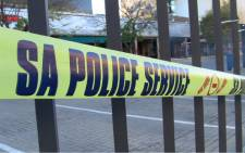 Police tape closes off a crime scene. Picture: EWN.