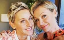 FILE: Ellen DeGeneres and Portia De Rossi. Picture: Instagram.