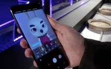 The new Samsung S9 lets you create your own emojis and slow-motion videos. Picture: Louise McAuliffe/EWN