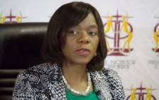 Public Protector Thuli Madonsela speaks during a media briefing in Pretoria on 28 August 2014. Picture: Christa Eybers/EWN.