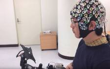 South Korean researchers have developed a machine that could read the minds of the disabled & transform their lives. Picture: Screengrab.