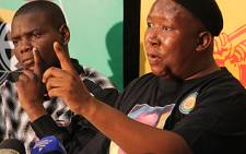 Expelled ANCYL president Julius Malema. Picture: Taurai Maduna/EWN