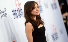 Actress Ellen Page. Picture: AFP.