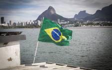 A Brazilian flag waves in the breeze. Picture: Reinart Toerien/EWN.