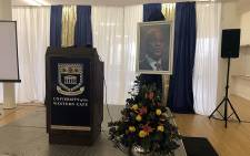 A memorial service took place for Dr Zola Skweyiya at the University of Cape Town on 19 April 2018. Picture: Graig-Lee Smith/EWN