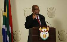 Jacob Zuma resigned as the president of South Africa on Wednesday 14 February 2018. Picture: Supplied