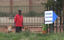 The Independent Electoral Commission says everything is in place for tomorrow's elections. Picture: Vumani Mkhize/EWN.