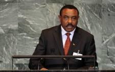 FILE: Ethiopia's Prime Minister Hailemariam Desalegn. Picture: AFP.