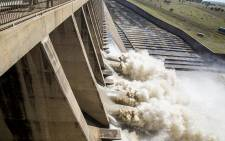 Approximately 400,000 cubic meters of water was released from the Vaal dam on 26 February 2017 after the dam reached 97.8 % capacity following heavy rains across Gauteng. Picture: Reinart Toerien/EWN.