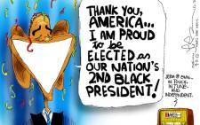 Jerm's first cartoon 9 November 2012.