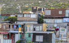 Many of Hangberg's residents live in poverty. Picture: EWN