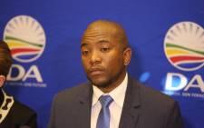 FILE: DA leader Mmusi Maimane. Picture: Christa Eybers/EWN