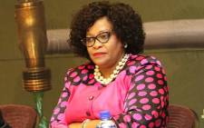 FILE: Communications Minister Nomvula Mokonyane. Picture: @DWS_RSA/Twitter