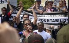 FILE: The Zuma Must Fall protest in the Company Gardens in Cape Town on 16 December 2015. Picture: Aletta Harrison/EWN