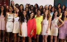 The Miss South Africa semi-finalists were revealed in all their glory on Tuesday afternoon. The 33 contastants will have to battle it out for the 2014 title to be held in March next year. Picture: Sebabatso Mosamo/EWN