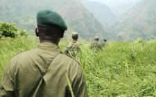 Park rangers at the Virunga National Park. Picture: Virunga.org