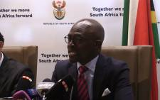 Finance Minister Malusi Gigaba. Picture: Kgothatso Mogale/EWN.