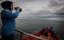 FILE: An officer of Indonesia's National Search and Rescue look over the horizon during a search for the missing Malaysian Airlines flight MH370. Picture: AFP