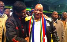 ANC president Jacob Zuma arrives at the ANC's 2012 National Policy Conference on 26 June 2012. Picture: Rahima Essop/EWN