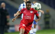 Leicester City's Ahmed Musa in action against Porto FC in the Uefa Champions League on 7 December 2016. Picture: Facebook.