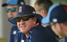 FILE: England cricket coach Trevor Bayliss. Picture: AFP