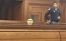 Cameron Wilson in the Western Cape High Court on 30 June 2017. Picture: Shamiela Fisher/EWN.