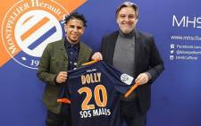 FILE: Keagan Dolly officially unveiled by Montpellier. Picture: Twitter/@dolly_keagan07.