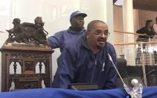 Newly elected chairperson of DA Western Cape Metro Region Grant Twigg. Picture: Monique Mortlock/EWN.
