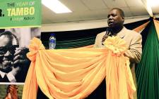 African National Congress treasurer-general Zweli Mkhize. Picture: Ziyanda Ngcobo/EWN
