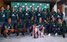 The blitzbokke this weekend won the Paris Sevens title and secured the World Sevens Series crown for the second consecutive season. Picture: Bertram Malgas/EWN