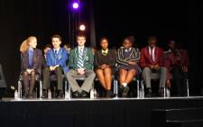 Conrad Strydom from Hermanus High School (in green blazer) achieved an aggregate of 98% during last year's matric final exams. Picture: EWN