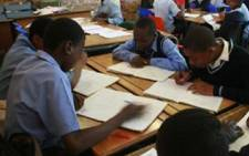 File Picture: School children hard at work. Picture: Taurai Maduna