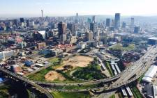 The Johannesburg skyline. Picture: Aki Anastasiou.