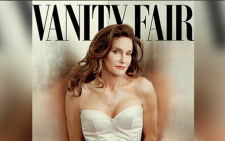 Bruce Jenner on the cover of Vanity Fair magazine.