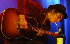 British musician Pete Doherty performs on stage at Club Backstage during a concert in Munich on November 29, 2009. Picture: AFP