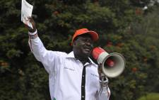 FILE: Kenya's opposition party Coalition for Reforms and Democracy leader Raila Odinga. Picture: AFP.