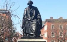 The statue of former Supreme Court Chief Justice Roger B. Taney. Picture: Twitter/@BmoreDoc.