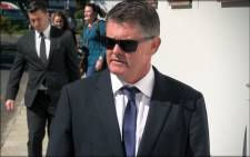 FILE: Jason Rohde leaves the Stellenbosch Magistrates Court. Picture: EWN.