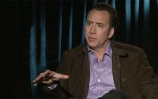 FILE: Nicolas Cage. Picture:Screengrab/CNN.