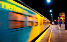 A general view of a train leaving a Cape Town station. Picture: Facebook.com.